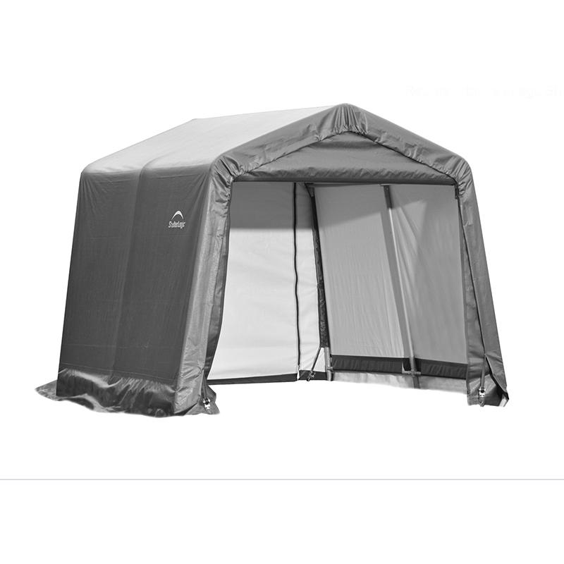 ShelterLogic 10x12x8 Peak Style Shelter - Grey (72813)