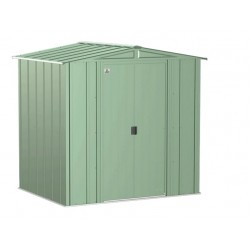 Arrow 6x5 Classic Steel Storage Shed Kit - Sage Green (CLG65SG)