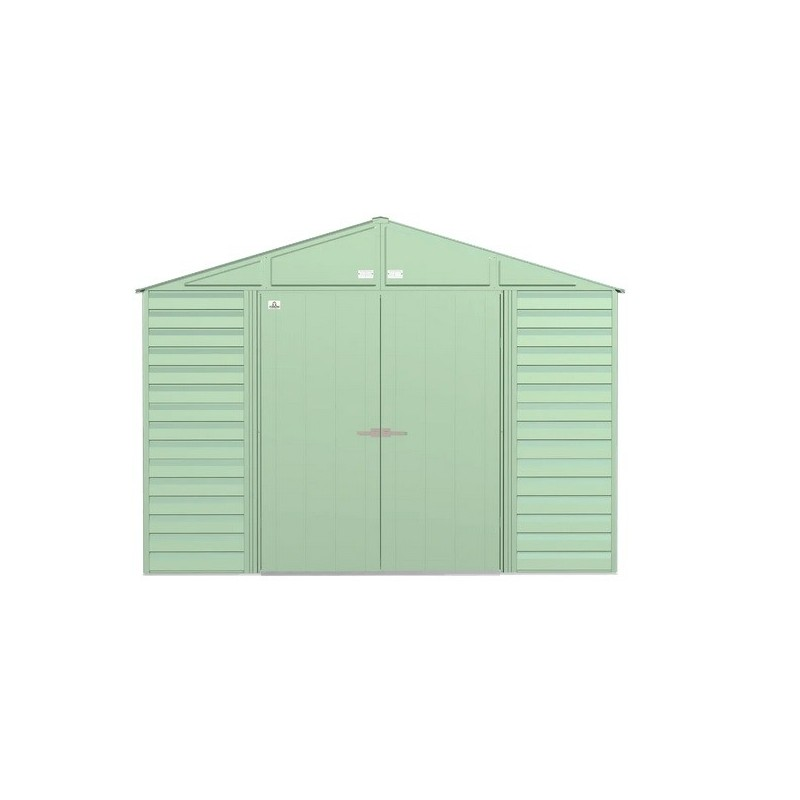 Arrow 10x12 Select Steel Storage Shed Kit - Sage Green (SCG1012SG)