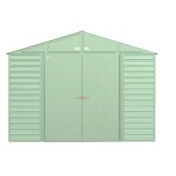 Arrow 10x8 Select Steel Storage Shed Kit - Sage Green (SCG108SG)