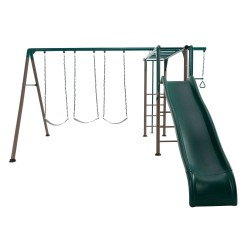 Lifetime Monkey Bar Adventure Swing Set - Earthtone (91028)