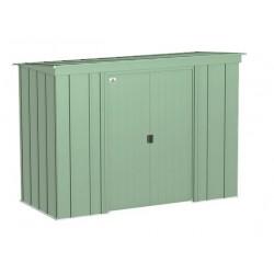 Arrow 8x4 Classic Steel Storage Shed Kit - Sage Green (CLP84SG)