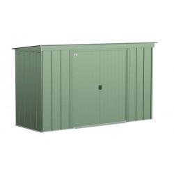 Arrow 10x4 Classic Steel Storage Shed Kit - Sage Green (CLP104SG)