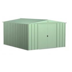 Arrow 10x12 Classic Steel Storage Shed Kit - Sage Green (CLG1012SG)