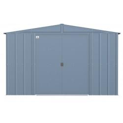 Arrow 10x12 Classic Steel Storage Shed Kit - Blue Grey (CLG1012BG)