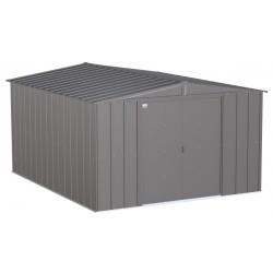 Arrow 10x12 Classic Steel Storage Shed Kit - Charcoal (CLG1012CC)