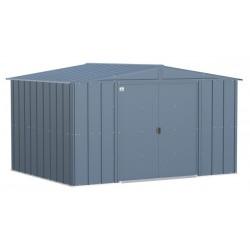 Arrow 10x8 Classic Steel Storage Shed Kit - Blue Grey (CLG108BG)