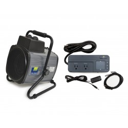 Palram 1500W Portable Fan Heater / Humidity Controller (HG1040)