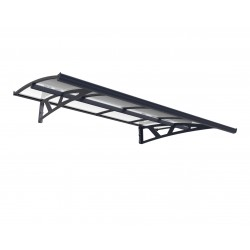 Palram 2230 Amsterdam Door Canopy Awning Kit (HG9576)