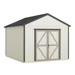 Handy Home Astoria 12x12 Wood Storage Shed Kit w/ Floor (19414-6)