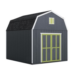Handy Home Braymore 10x14 Wood Storage Shed Kit (19454-2)