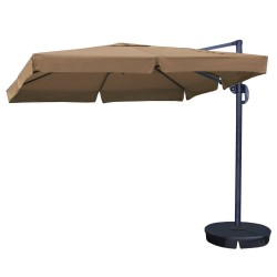 Blue Wave 10 ft Square Santorini II Cantilever Umbrella - Terra Cotta (NU6190)
