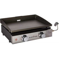 Blackstone 22 in. Cart Griddle with 2 Burners (1966)