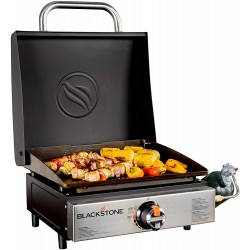 Blackstone 17 in. Table Top Griddle with Hood (1814)