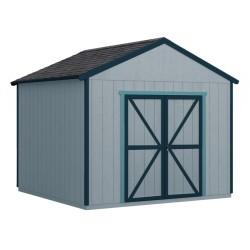 Handy Home Rookwood 10x10 Wood Storage Shed Kit (19427-6)