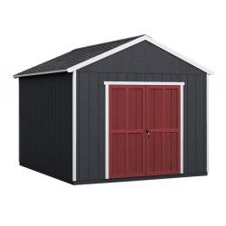 Handy Home Rookwood 10x12 Wood Storage Shed Kit w/ Floor (19431-3)