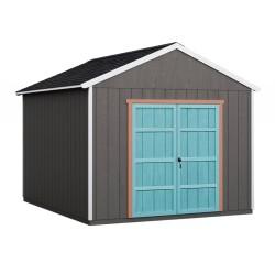 Handy Home Rookwood 10x14 Wood Storage Shed Kit w/ Floor (19433-7)