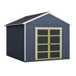 Handy Home Rookwood 10x16 Wood Storage Shed Kit w/ Floor (19437-5)