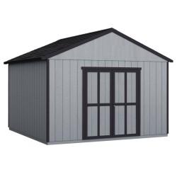 Handy Home Astoria 12x16 Wood Storage Shed Kit w/ Floor (19418-4)