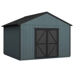 Handy Home Astoria 12x20 Wood Storage Shed Kit w/ Floor (19421-4)