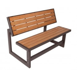 Lifetime Faux Wood Convertible Bench 60054