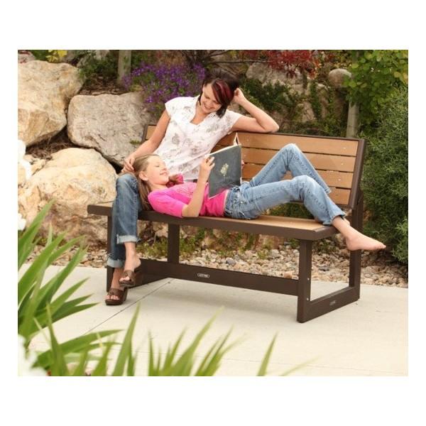 Lifetime Faux Wood Convertible Bench 860054