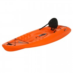 Lifetime 8.5 ft Hydros Plastic Kayak w/ Paddle - Orange (90595)