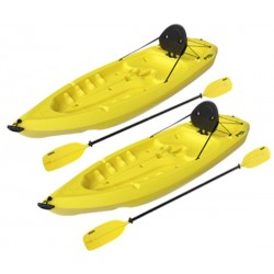 Lifetime Daylite Kayak 2-pack w/Paddles (Yellow) 90158