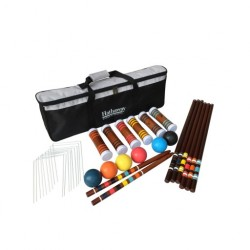 Hathaway Sports Six Player Croquet Set Kit (BG3126)