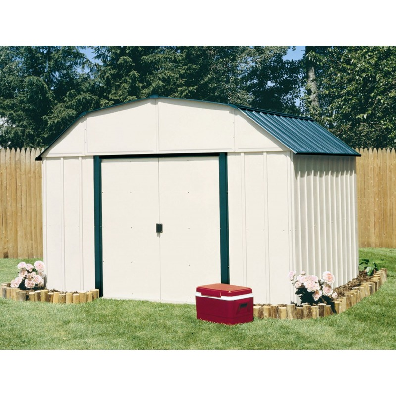 Arrow Vinyl Sheridan 10x8 Storage Shed Kit VS108