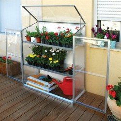Palram Grow Station Raised Garden Bed Greenhouse Kit (HG3302)