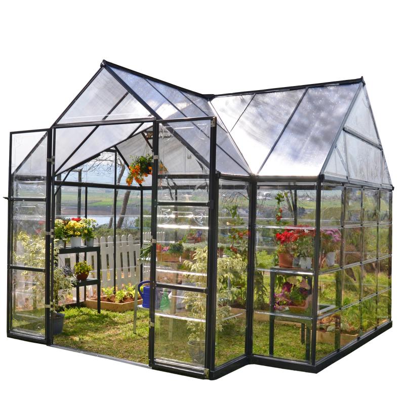 Palram 12x8 Chalet  Greenhouse Kit (HG5400)