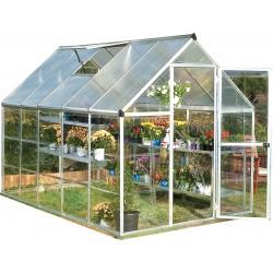 Palram 6x10 Hybrid Greenhouse Kit - Silver (HG5510)