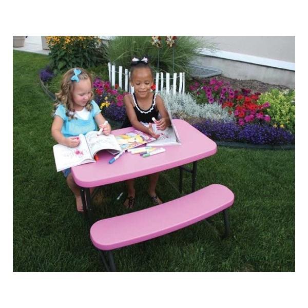 lifetime 8 ft. folding picnic table 2