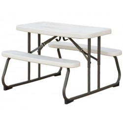 Lifetime Kids Folding Picnic Table (Almond) 280094