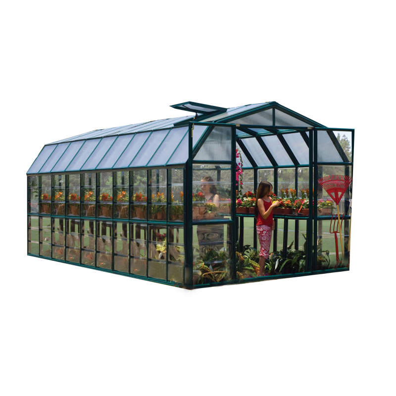Rion Grand Gardener 2 Clear 8x20 Greenhouse Kit (HG7220C)