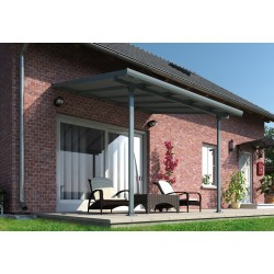 Palram Feria 10x10 Patio Cover Kit - Gray (HG9410)