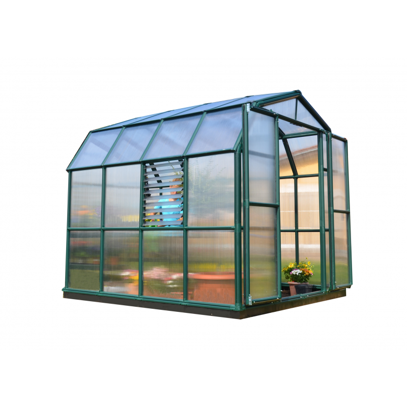 Rion Prestige 2 Twin Wall 8x8 Greenhouse Kit (HG7308)