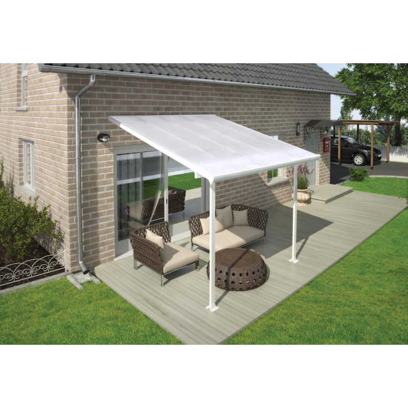 Palram 10x10 Feria Patio Cover Kit - White (HG9310)