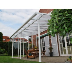 Palram Feria 10x14 Patio Cover Kit - White (HG9314)