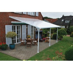 Palram 10x24 Feria Patio Cover Kit - White (HG9324)