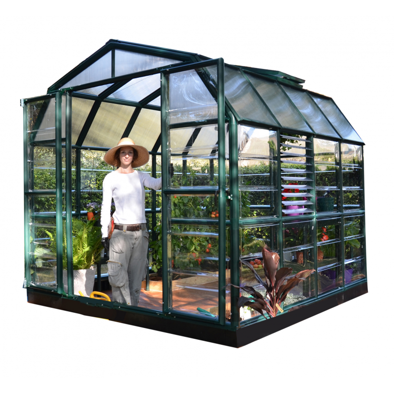 Rion 8x8 Prestige 2 Greenhouse Kit - Clear (HG7308C)