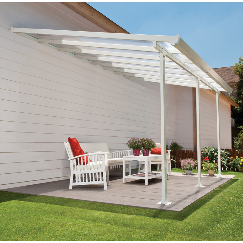Palram 13x26 Feria Patio Cover Kit White Hg9226