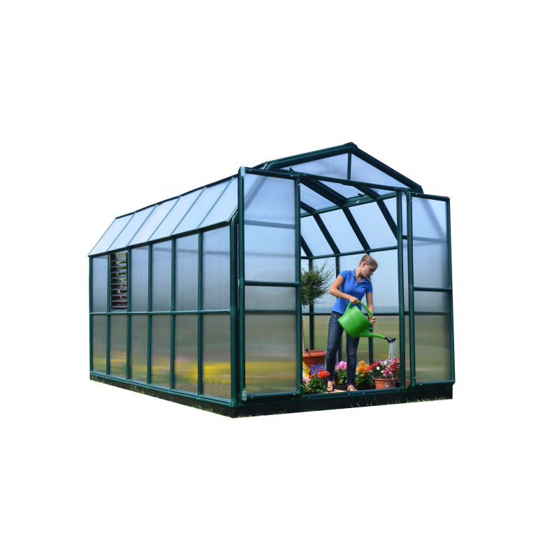 Rion 8x12 Prestige 2 Greenhouse Kit - Twin Wall (HG7312)