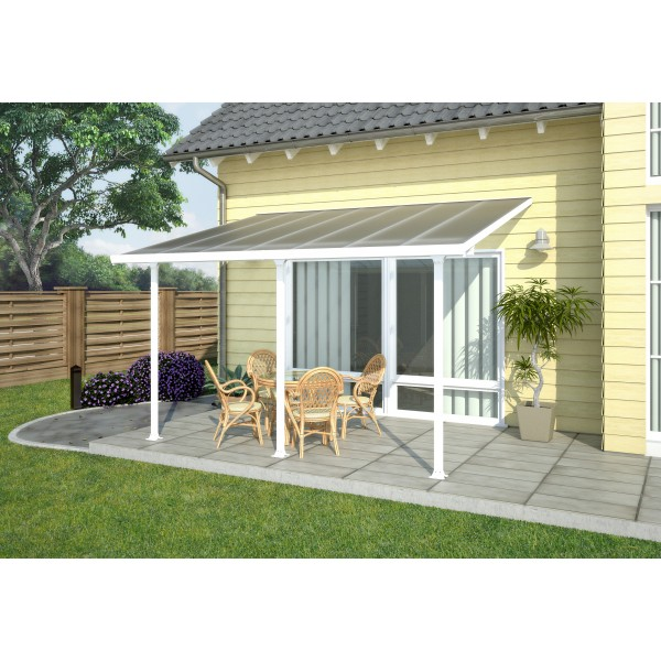 Palram 13x20 Feria Patio Cover Kit White Hg9220