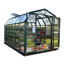 Rion 8x12 Prestige 2 Greenhouse Kit - Clear (HG7312C)