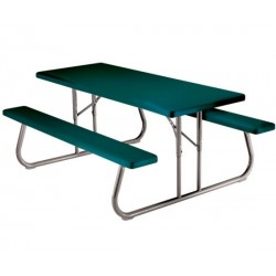 Lifetime 6 ft. Folding Picnic Table (Hunter Green) 22123