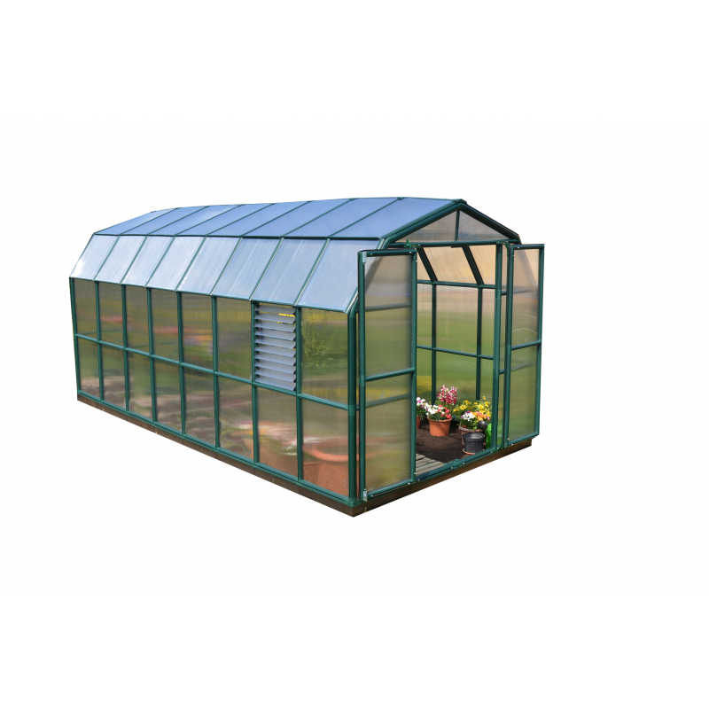 Rion 8x16 Prestige 2 Greenhouse Kit - Twin Wall (HG7316)