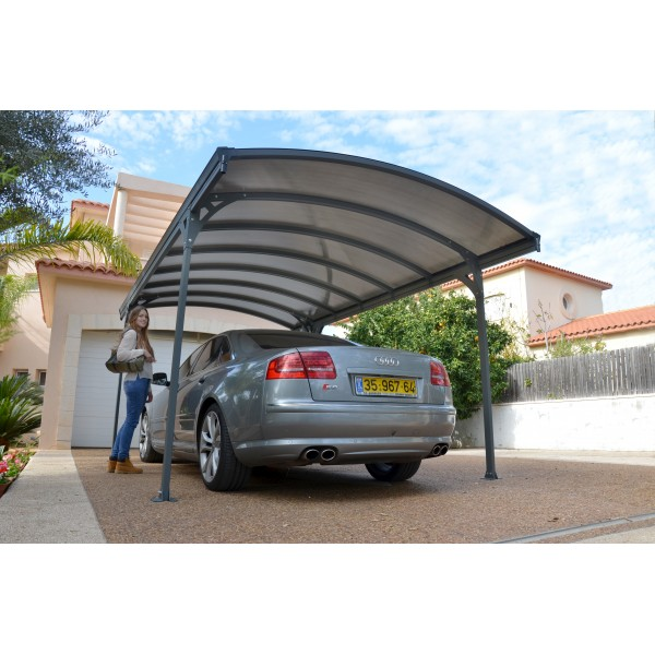 Palram Vitoria Carport Kit Gray Bronze Hg9130