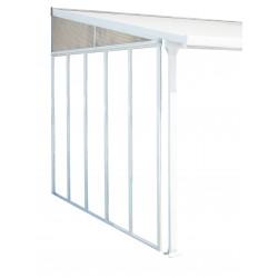 Palram Feria 10' Patio Cover Sidewall Kit - White (HG9005)